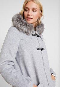 Esprit Collection - MIX COAT - Kurzmantel - light grey - 4