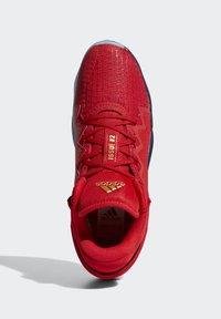 adidas Performance - D.O.N. ISSUE 2 - Indoorskor - scarlet/team navy blue/gold metallic - 4