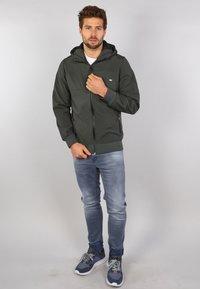 Gabbiano - Zip-up hoodie - army - 1