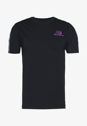 ATHLETICS TOKYO NIGHTS TRACK - Print T-shirt - black