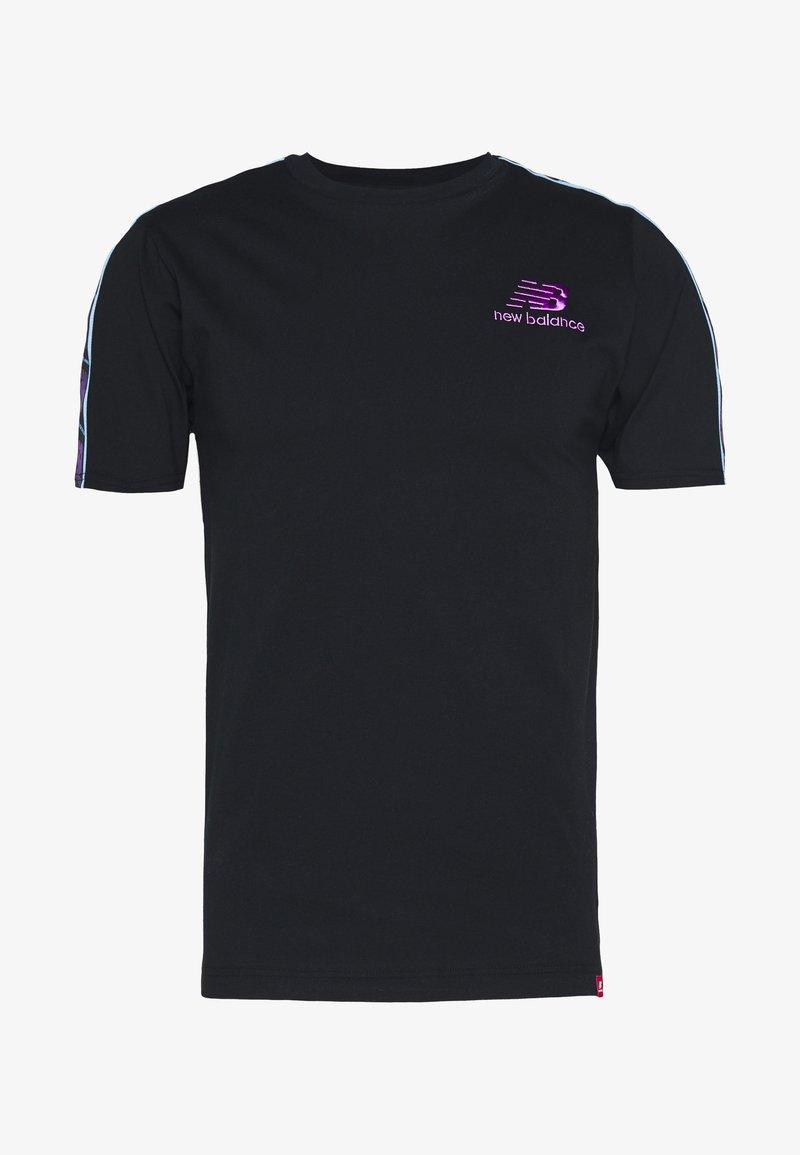New Balance - ATHLETICS TOKYO NIGHTS TRACK - Print T-shirt - black