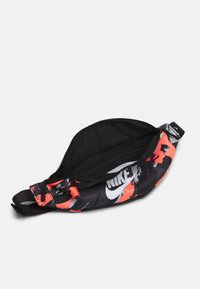 Nike Sportswear - HERITAGE UNISEX - Bum bag - bright mango/black/white - 2