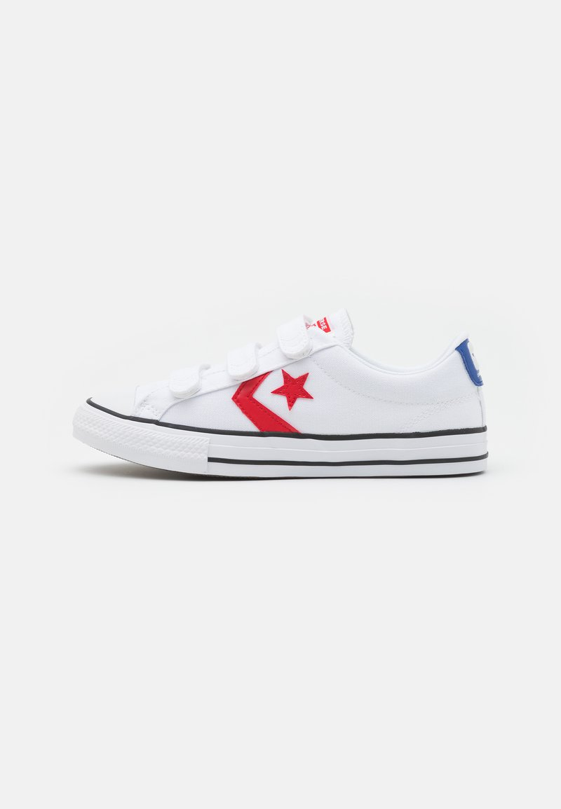 Converse - STAR PLAYER UNISEX - Trainers - white/university red/blue