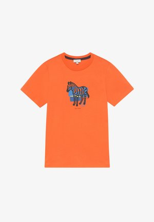AMOLO - Print T-shirt - orange