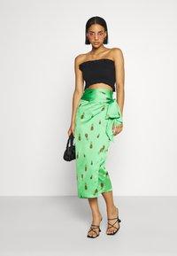 Never Fully Dressed - SUMMER RAINBOW JASPRE - Wrap skirt - green - 1