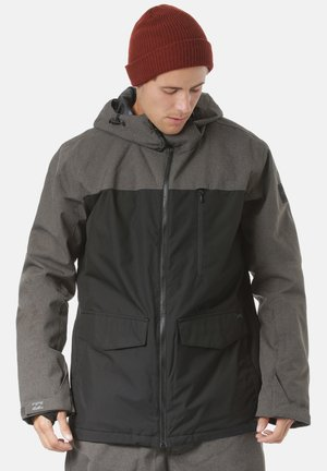 ALL DAY - Snowboard jacket - grey heather