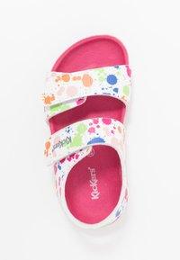 Kickers - SUMMERKRO - Sandals - blanc/multicolor - 1