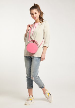 HENKELTASCHE - Across body bag - light pink