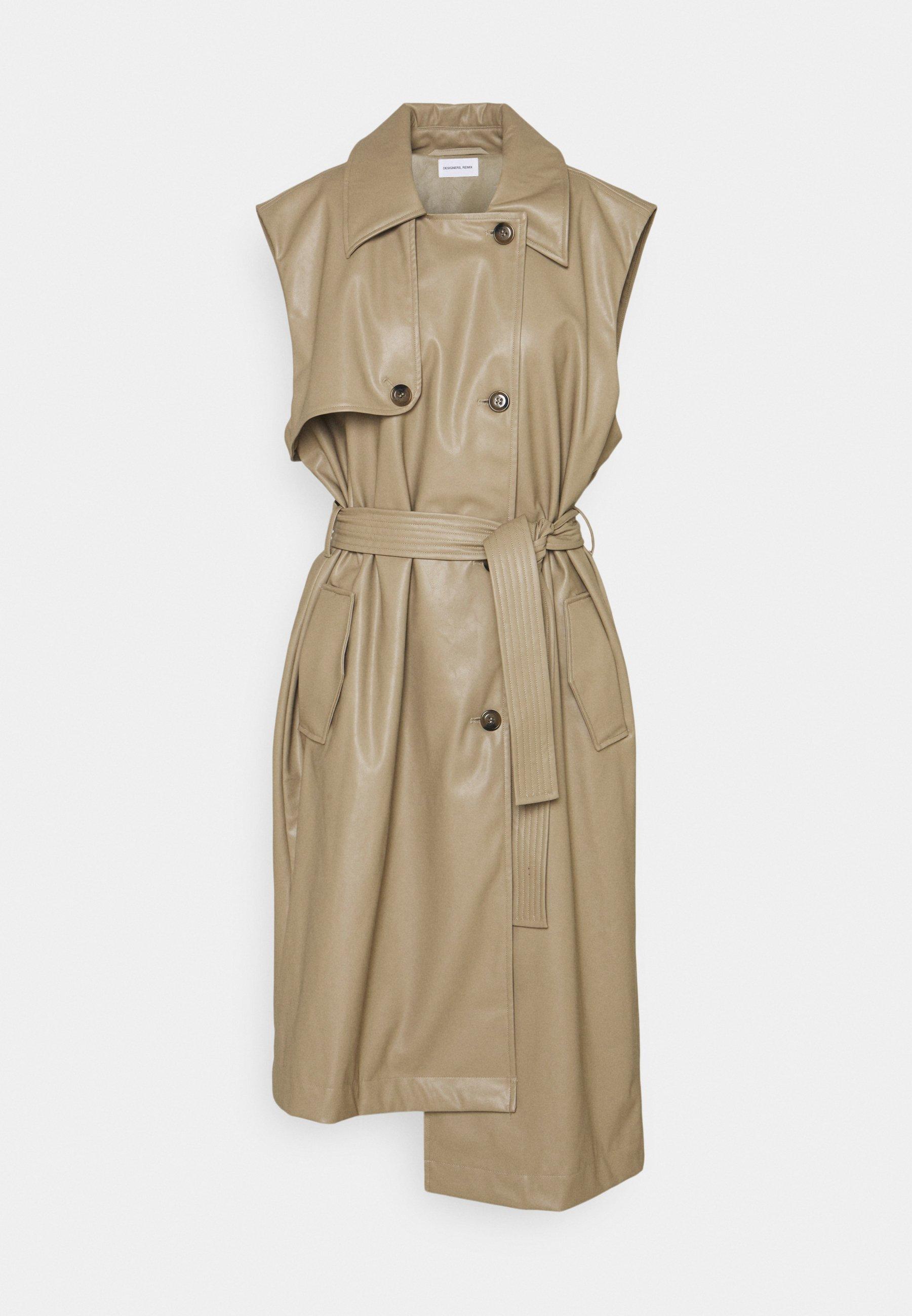 Women MARIE VEST COAT - Trenchcoat