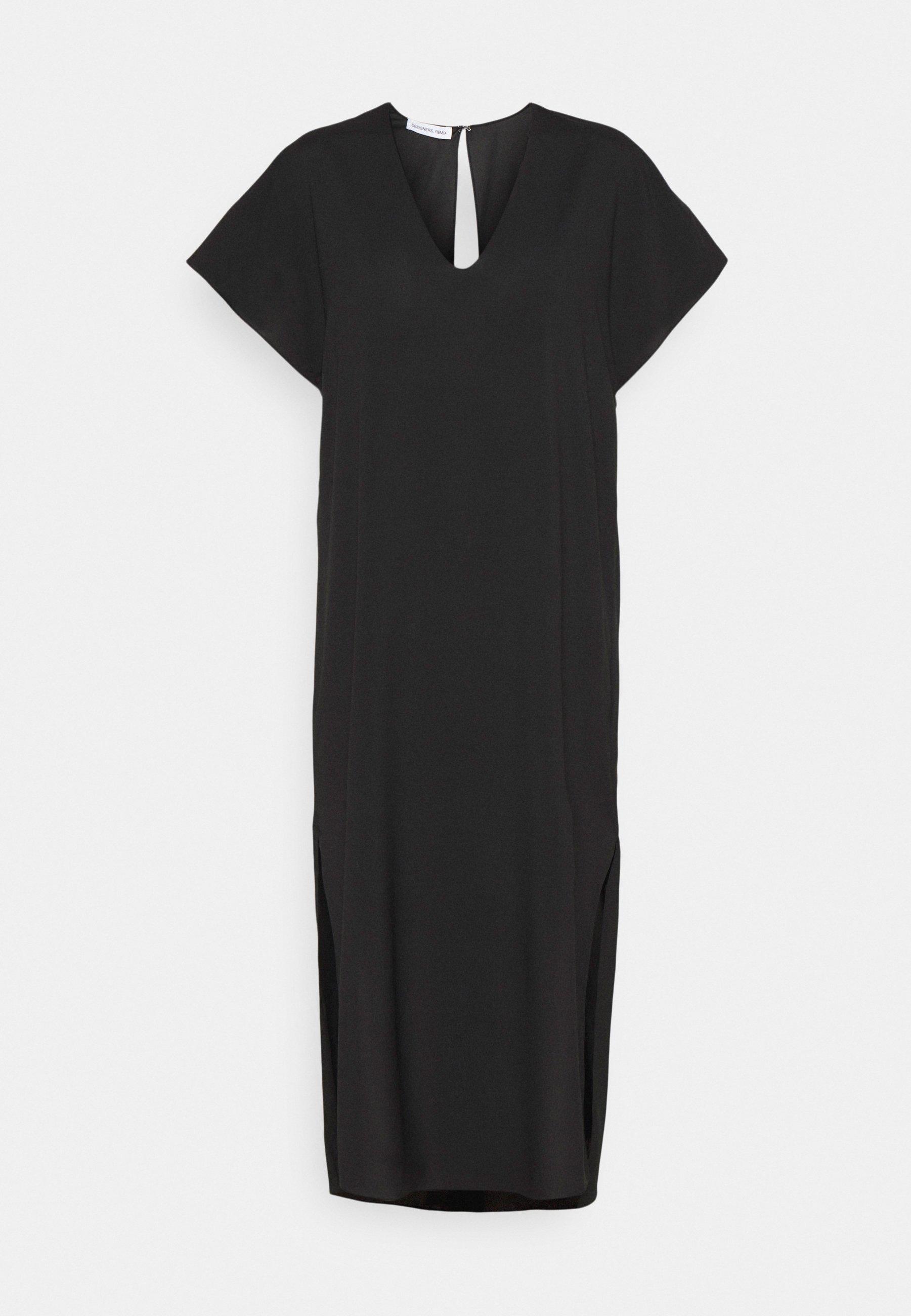 Women VALERIE LONG SLIT DRESS - Day dress