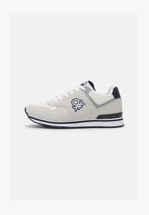 BUMBER - Trainers - white/navy