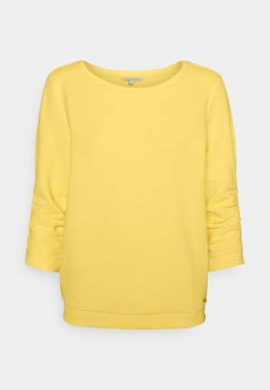 STRUCTURED - Sweater - honey popcorn