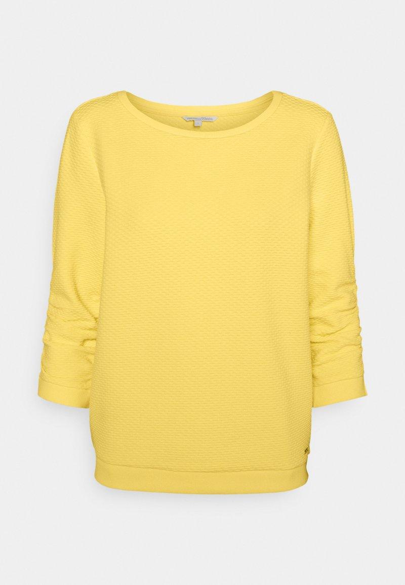 TOM TAILOR DENIM - Sweatshirt - honey popcorn