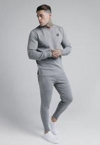 SIKSILK - EXHIBIT FUNCTION PANTS - Träningsbyxor - grey marl - 1
