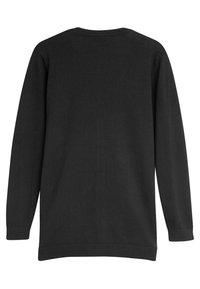 Next - BLACK LONGER LENGTH V-NECK CARDIGAN (3-16YRS) - Cardigan - black - 1