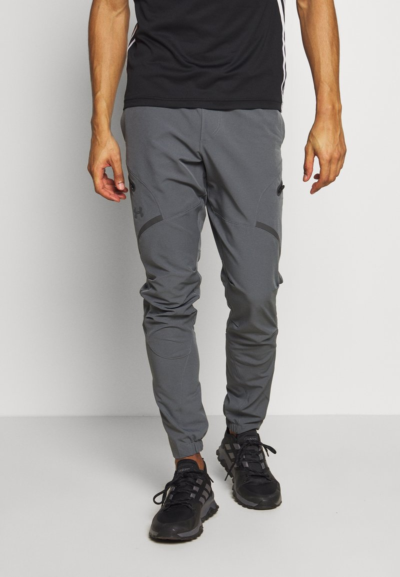 Under Armour - PROJECT ROCK UTILITY PANT - Trainingsbroek - pitch gray