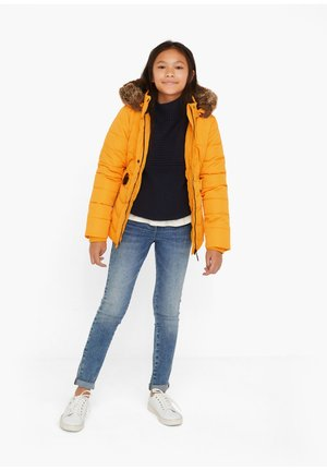 Winter jacket - light orange