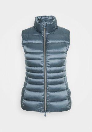 IRISY - Waistcoat - steel blue