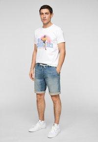 QS by s.Oliver - Denim shorts - blue - 1
