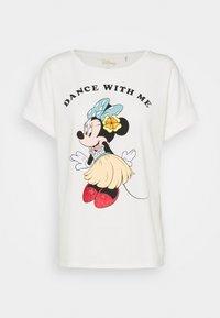 Springfield - GYM LICENCIA MINNIE HAWAII - Print T-shirt - white - 0