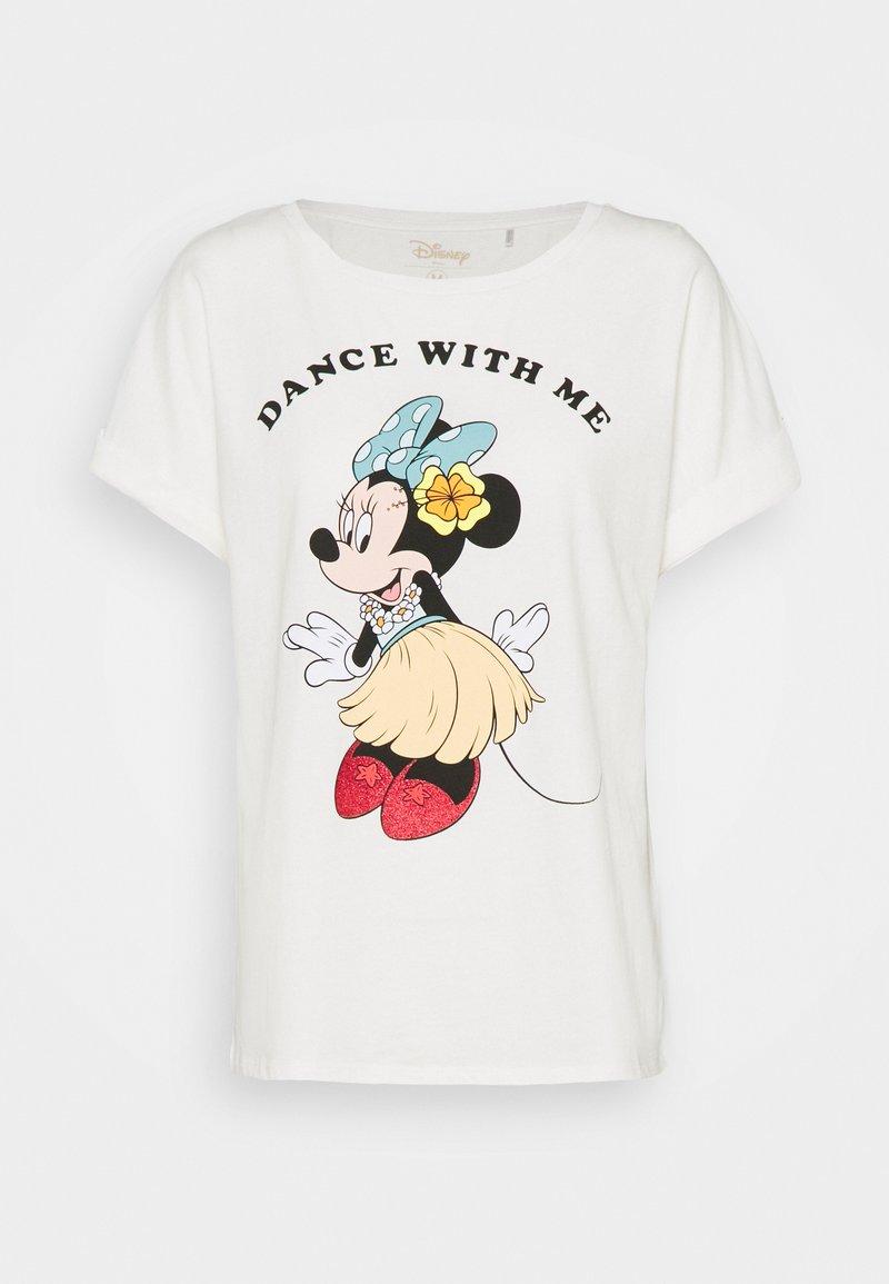 Springfield - GYM LICENCIA MINNIE HAWAII - Print T-shirt - white