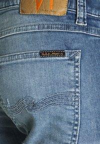 Nudie Jeans - TIGHT TERRY - Jeans Skinny Fit - mended ink - 6