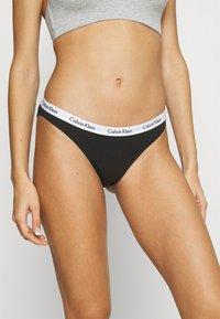 Calvin Klein Underwear - CAROUSEL 3 PACK - Slip - black/white/bare - 1