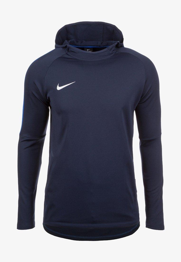 Nike Performance - DRY ACADEMY 18 - Hoodie - dark blue