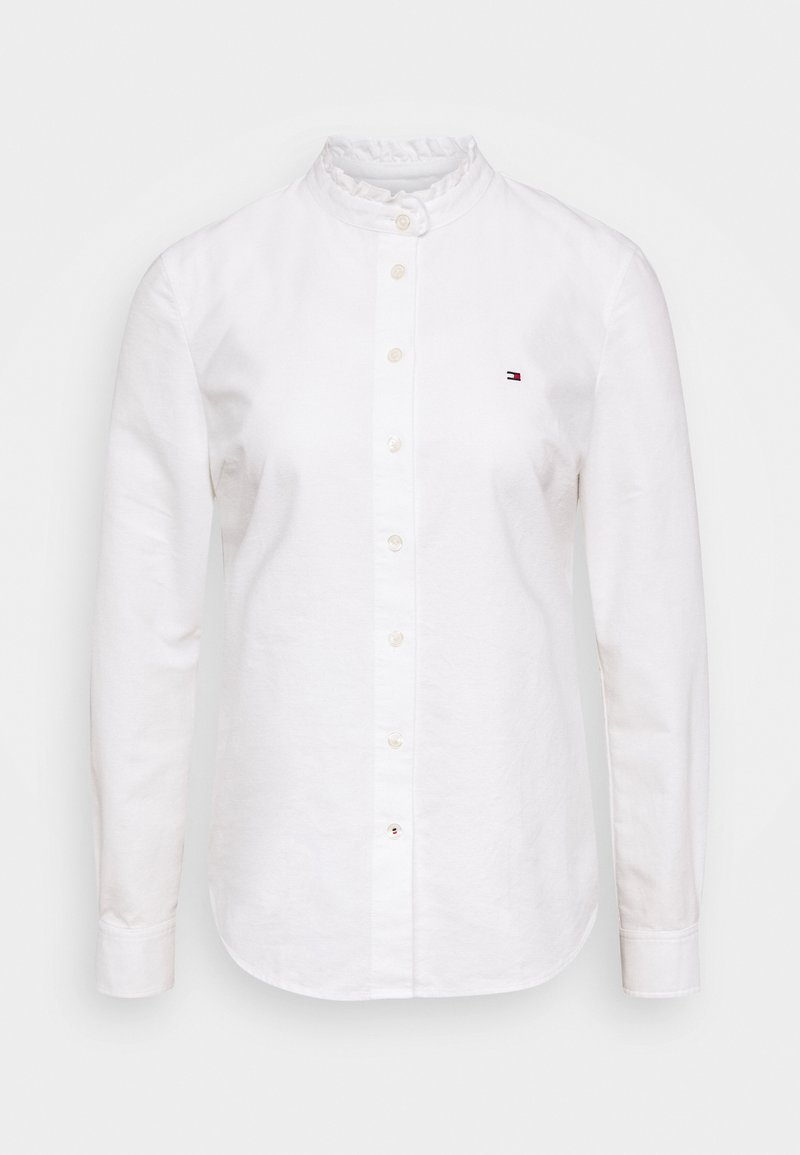 Tommy Hilfiger - RECYCLED OXFORD REG - Button-down blouse - ecru