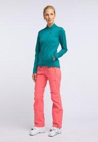 PYUA - APPEAL - Fleece jacket - petrol blue - 1