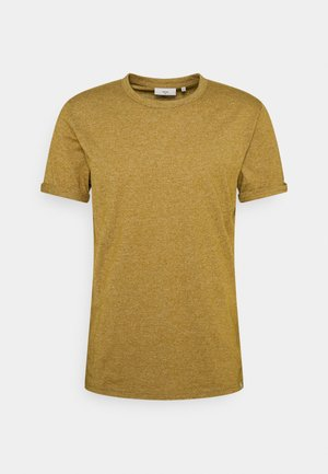 DELTA - Basic T-shirt - dried tobacco