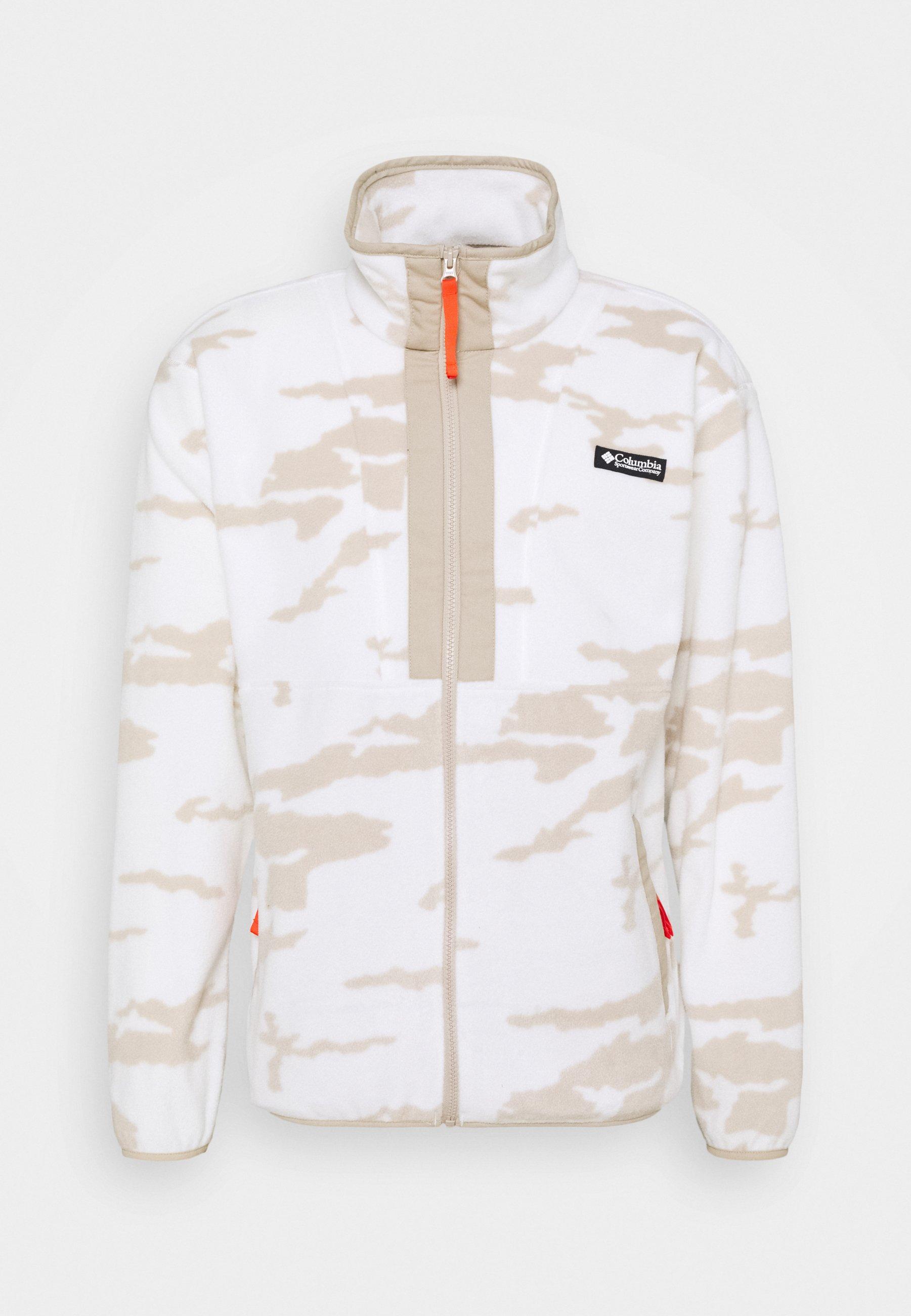Men FIELD ROC™ BACKBOWL™ FULL ZIP - Fleece jacket - sea salt
