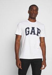 GAP - VBASIC ARCH 2 PACK - T-shirt z nadrukiem - blue/white - 1