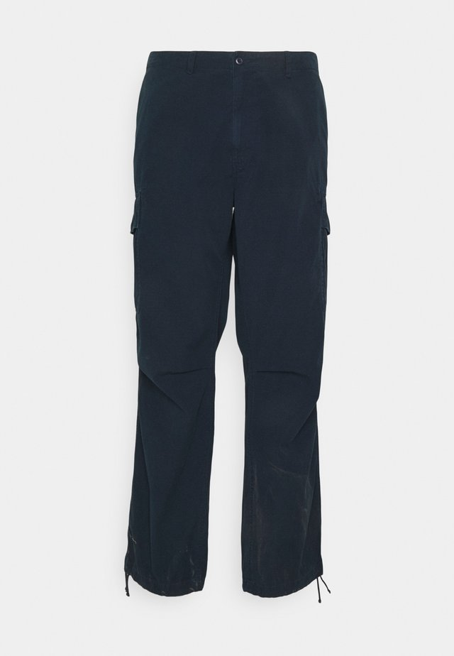 RELAXED FIT PANT SOFT FADE - Cargo trousers - aviator navy