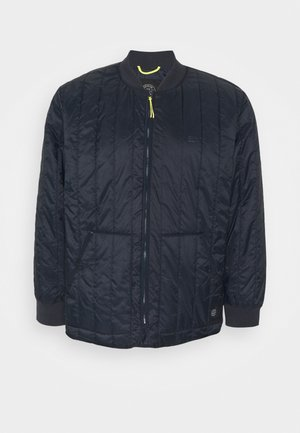 QUILTED JACKET - Giacca da mezza stagione - navy
