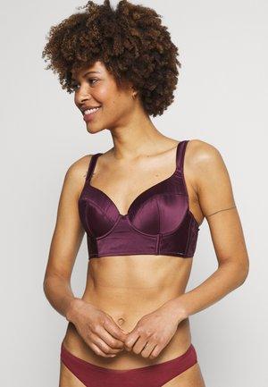 Underwired bra - purple