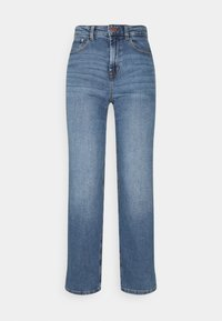 ONLY - ONLMEGAN WIDE ANKLE - Jeans straight leg - light medium blue denim - 0