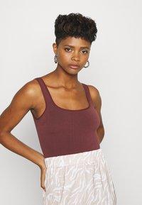 BDG Urban Outfitters - IMOGEN TANK - Top - burgundy - 3