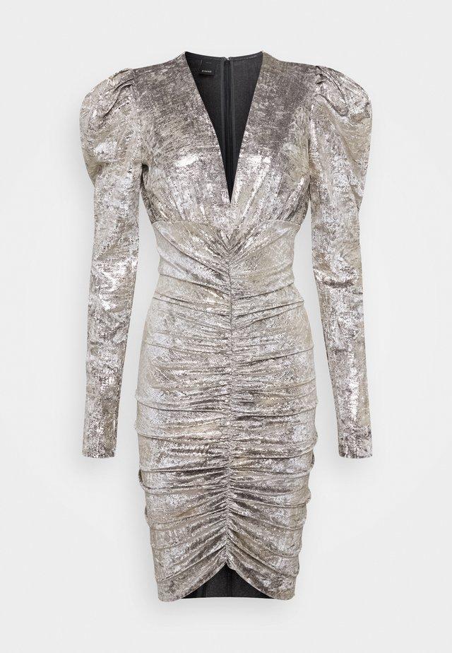CICLONE DRESS - Robe de soirée - grigio/oro