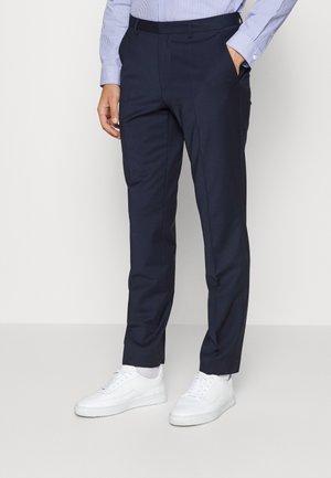 SIMMONS - Hlače za moške obleke - dark blue