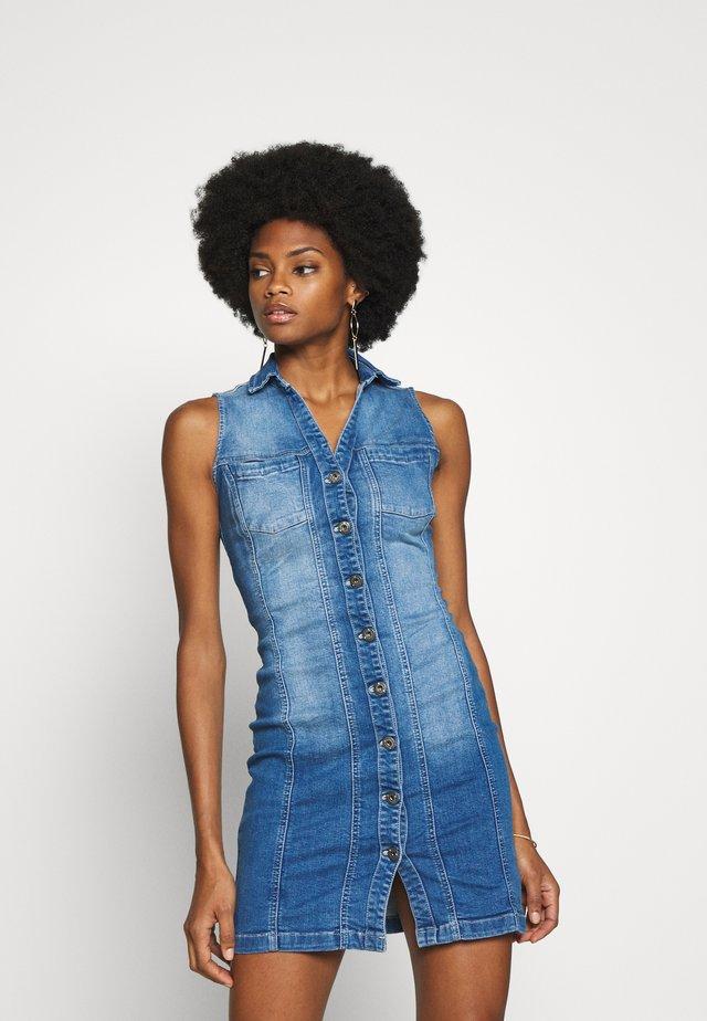 OLYVIA - Robe en jean - blue denim