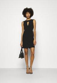 Guess - PATTI DRESS - Shift dress - jet black - 1