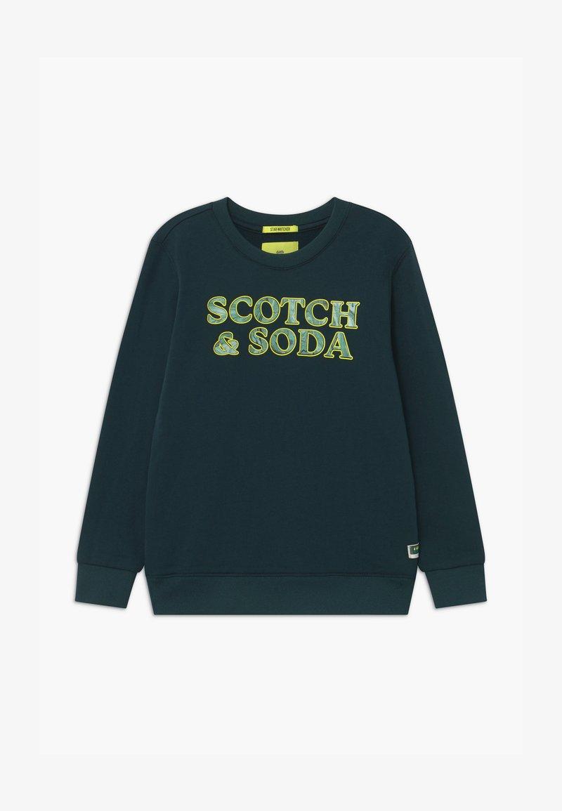 Scotch & Soda - CREWNECK MARBLE ARTWORK - Sweatshirt - nordic green