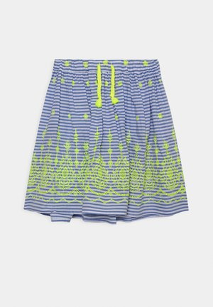 JILLY SKIRT - Mini skirt - colony blue