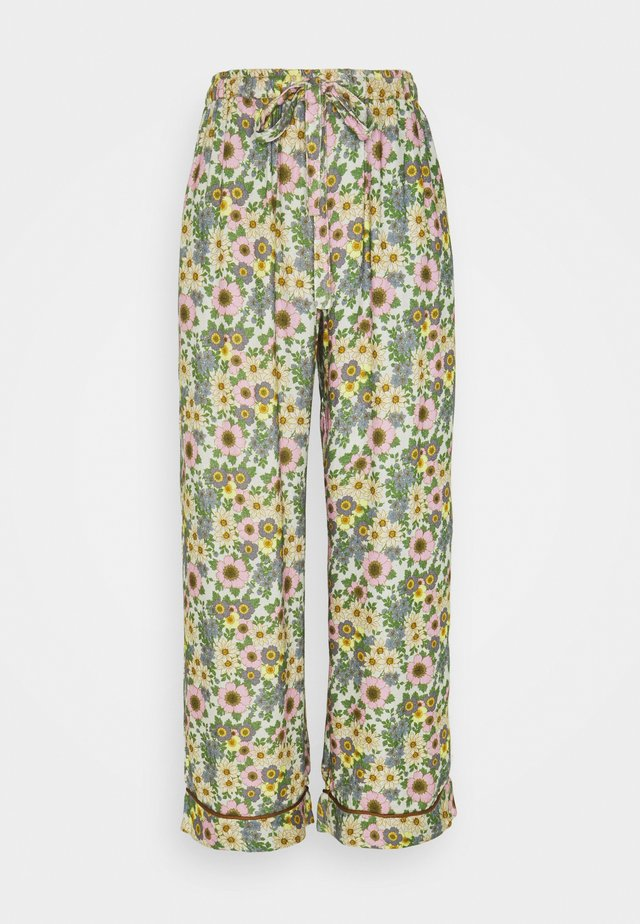 RANIA PANTS - Pyjamahousut/-shortsit - purple