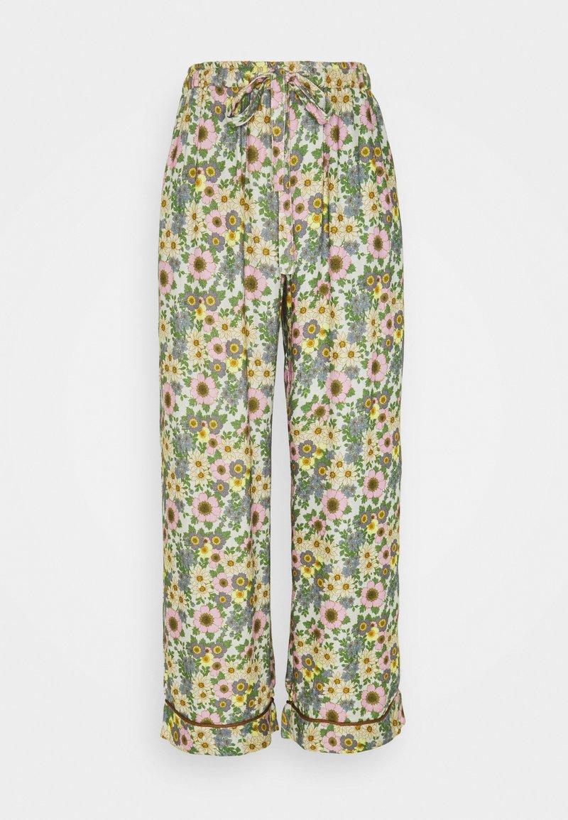 Underprotection - RANIA PANTS - Pyjamahousut/-shortsit - purple