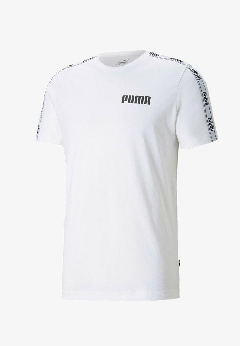 Puma - T-shirt con stampa - white