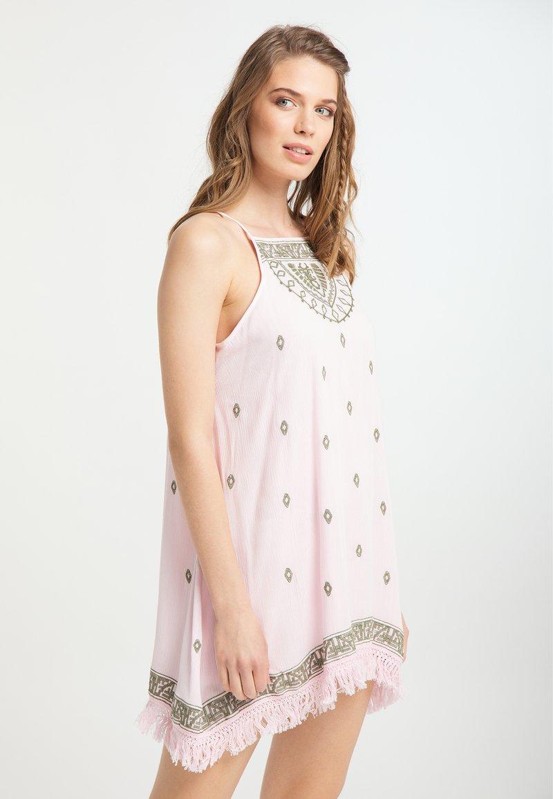 usha - Denní šaty - hellrosa