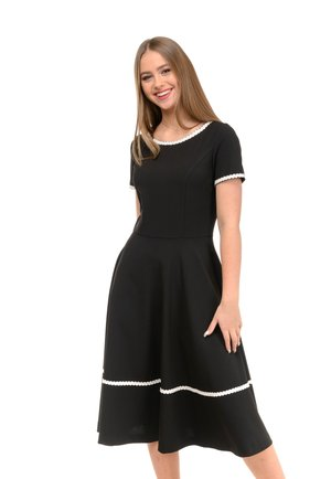 ISABELLA - Day dress - black