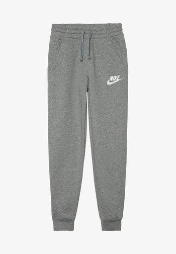CLUB  - Pantaloni sportivi - carbon heather/cool grey/white